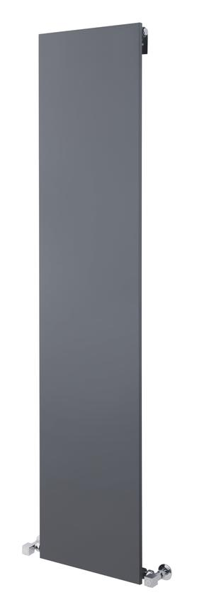 Monterey Anthracite Hudson Reed Flat Panel Radiator | HLA100