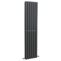 Revive Vertical Designer Anthracite Double Panel Radiator | HLA76