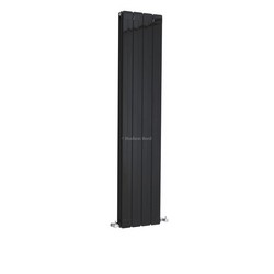 Rapture Designer Radiator - High Gloss Black | HLB57