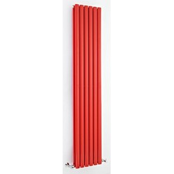Hudson Reed Revive Compact Red Double Designer Radiator | HRE003