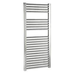 Premier Tall Chrome Straight Ladder Rail Towel Radiator | MTY065