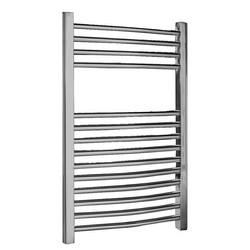 Premier Chrome Curved Ladder Rail Towel Radiator | MTY066